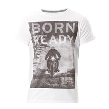 Born Ready - Camiseta - blanco