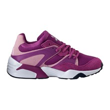 Sneakers in pelle - fucsia