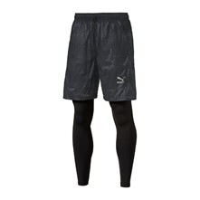 Evo Embossed Layered - Shorts - schwarz