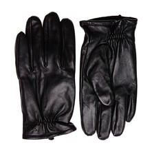 Leather Casual - Guanti di pelle - nero