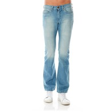 Jeans bootcut - washed blauw