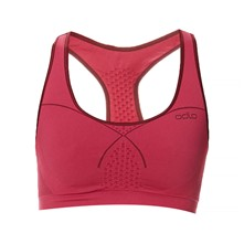 Seamless Medium Sports Bra - Sport-BH - fuchsienrosa