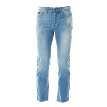 Jeans recht - washed blauw