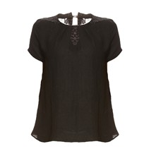 Chantilly - T-shirt - zwart