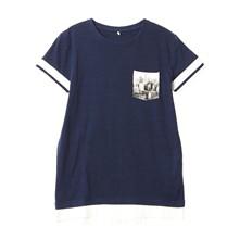 T-shirt - indigo blue