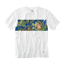 The jungle - T-shirt - wit