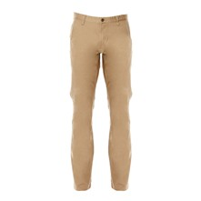 Bic Alpha slim tapered stretch - Pantaloni chino - beige
