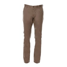 Bic Alpha slim tapered stretch - Pantalón chino - gris