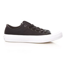 CHUCK TAYLOR ALL STAR II OX BLACK/WHITE/NAVY - Gympen - zwart