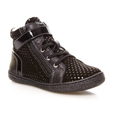 Mel-E - Sneakers alte in pelle - nero