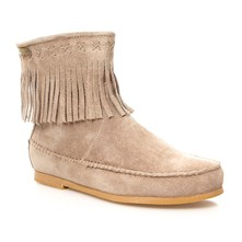 Crabe - Boots - gris arenoso
