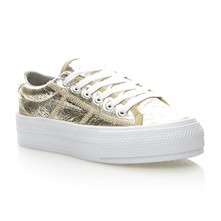 Sneakers - goldfarben