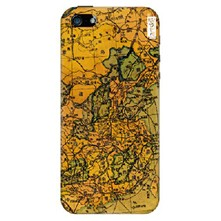 iPhone 5/5S - Cover landkaart