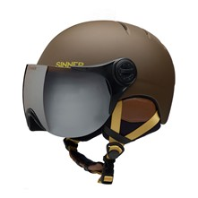 Crystal - Casco per freeride - marrone scuro