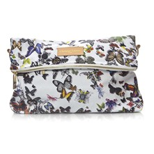 Eden - Pochette con finiture in pelle - multicolore