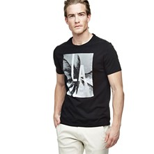 Look through - T-shirt - noir