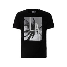 Look through - T-Shirt - schwarz