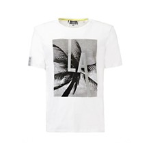 Look through - T-Shirt - weiß