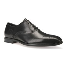 New life - Derby in pelle - nero