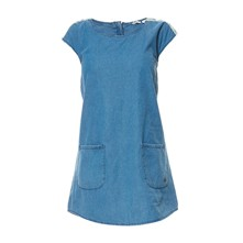 After Surfing - Vestido recto - denim azul