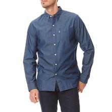 Sunset 1 pocket - Camisa vaquera - azul