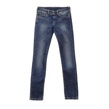 new saber - Jean recto - denim azul