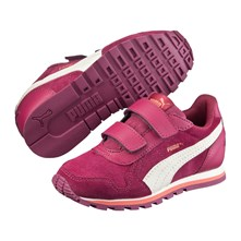 Ledersneakers - indisches rosa