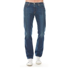 504 Regular Straight Fit - Jean recto - azul