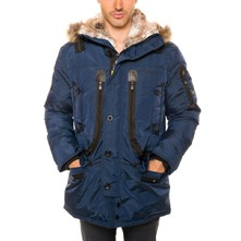 Batman - Parka - marineblau