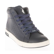 WILTON MID - High Sneakers - marineblau