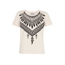 TRIBAL MUSE NEWSKOULIZ FLOCKIZ - T-Shirt - hautfarben