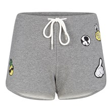 ADDICTED TO POCHIZ MICIZ - Shorts - grau