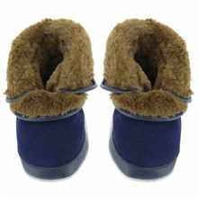 Cosy Boot - Pantofole - blu scuro