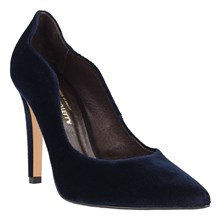 Pumps - marineblau