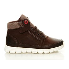 Mauricius - Sneakers in pelle - marrone scuro