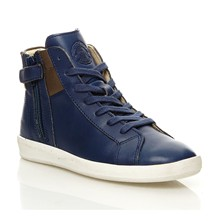Hatila - Sneakers in pelle - blu scuro
