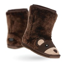 Brown Bear - Botines - chocolate