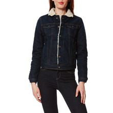 Core JKT Dlx - Giacca in jeans - blu jeans