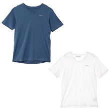 mifte17 - Lot de 2 T-shirts - bicolore
