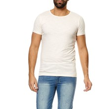 Symington-E - T-Shirt - naturfarben