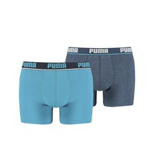 New Waistband - 2-er Set Boxershorts - blau
