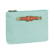 Litchi - Trousse - turquoise