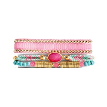 Billie mini - Pulsera con perlas - rosa