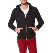 Original Zip Up - Sudadera con capucha - negro