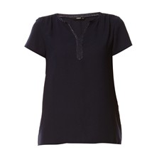 Top - marineblau