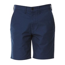 Straight Chino Short - Short - blauw