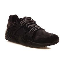 Blaze Core - Sneakers con inserti in pelle - nero