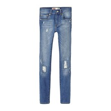 519 - Jeans slim - washed blauw