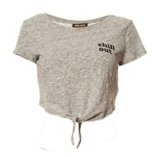 Cropped Top - gris