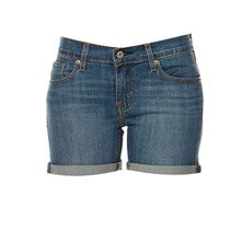 Mid Lenght Short - Short - denim azul